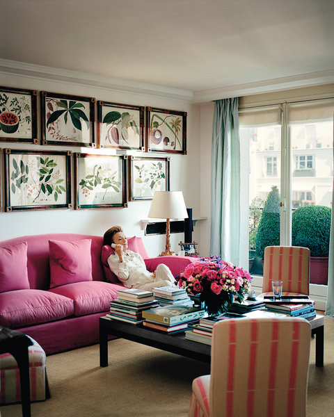 The World of KOTUR: Dames in their Drawing Rooms: Lee Radziwill
