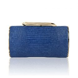 KOTUR Embossed Leather Bailey Clutch