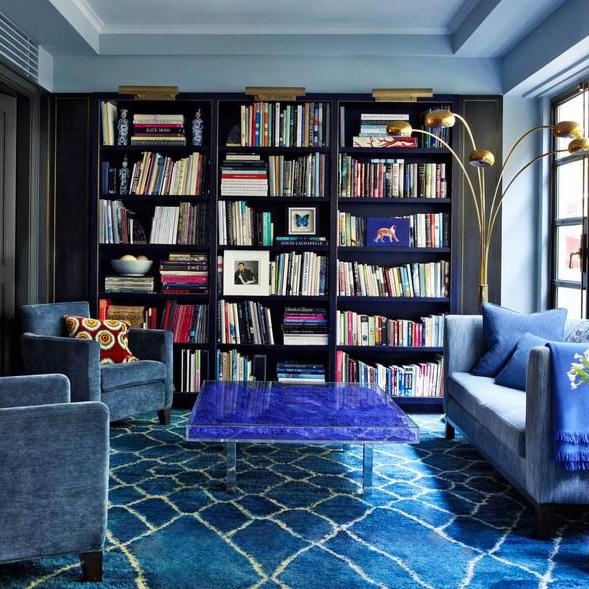 A Study in Blue
