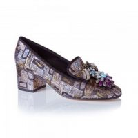 KOTUR Brocade Loafers